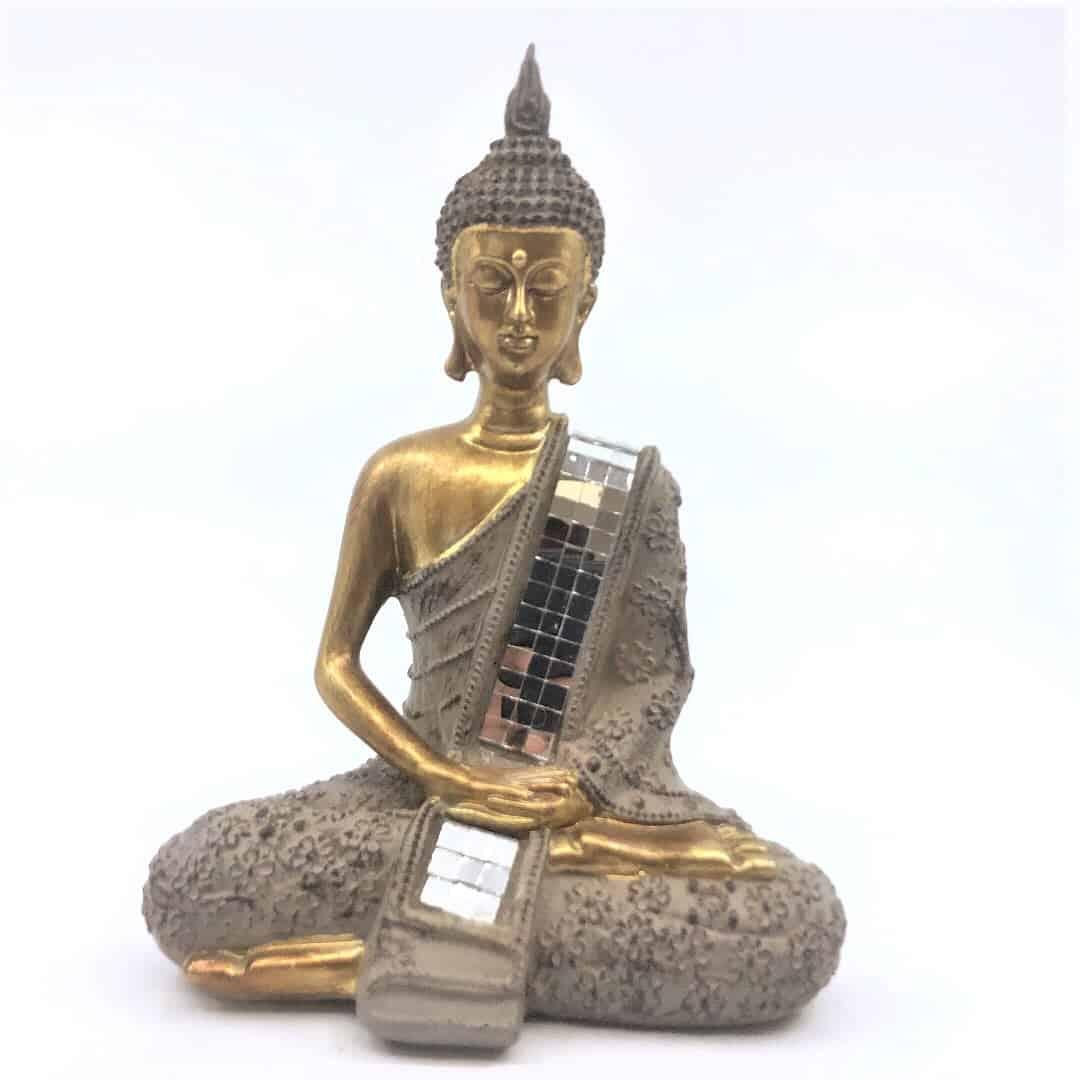 Fortune crystals buddha resin - Buddha
