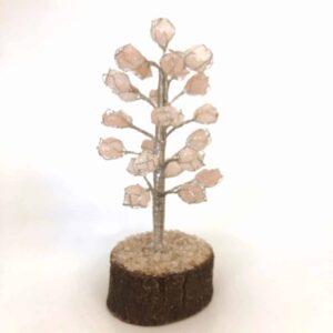 Rose qtz tumbled stone tree 15 300x300 - Rose quartz tumbled stone tree