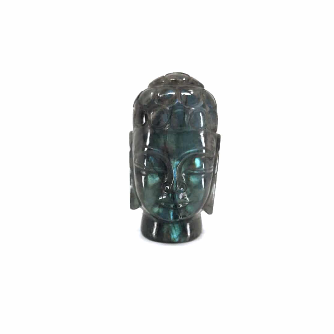 Fortune crystals Labradorite - Labradorite Buddha