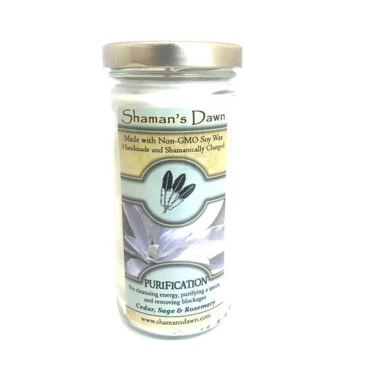 Shamans Dawn purification candle