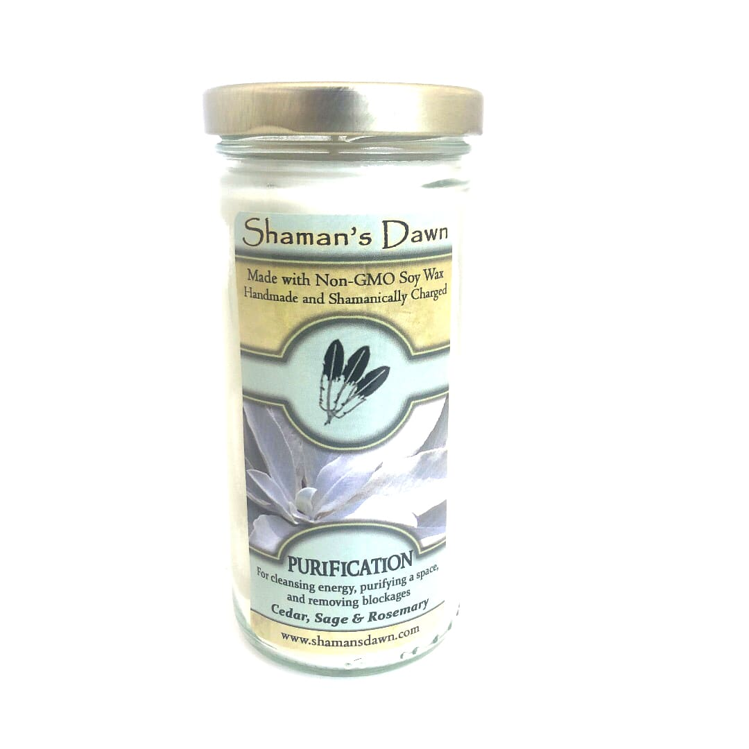 Shamans Dawn purification candle