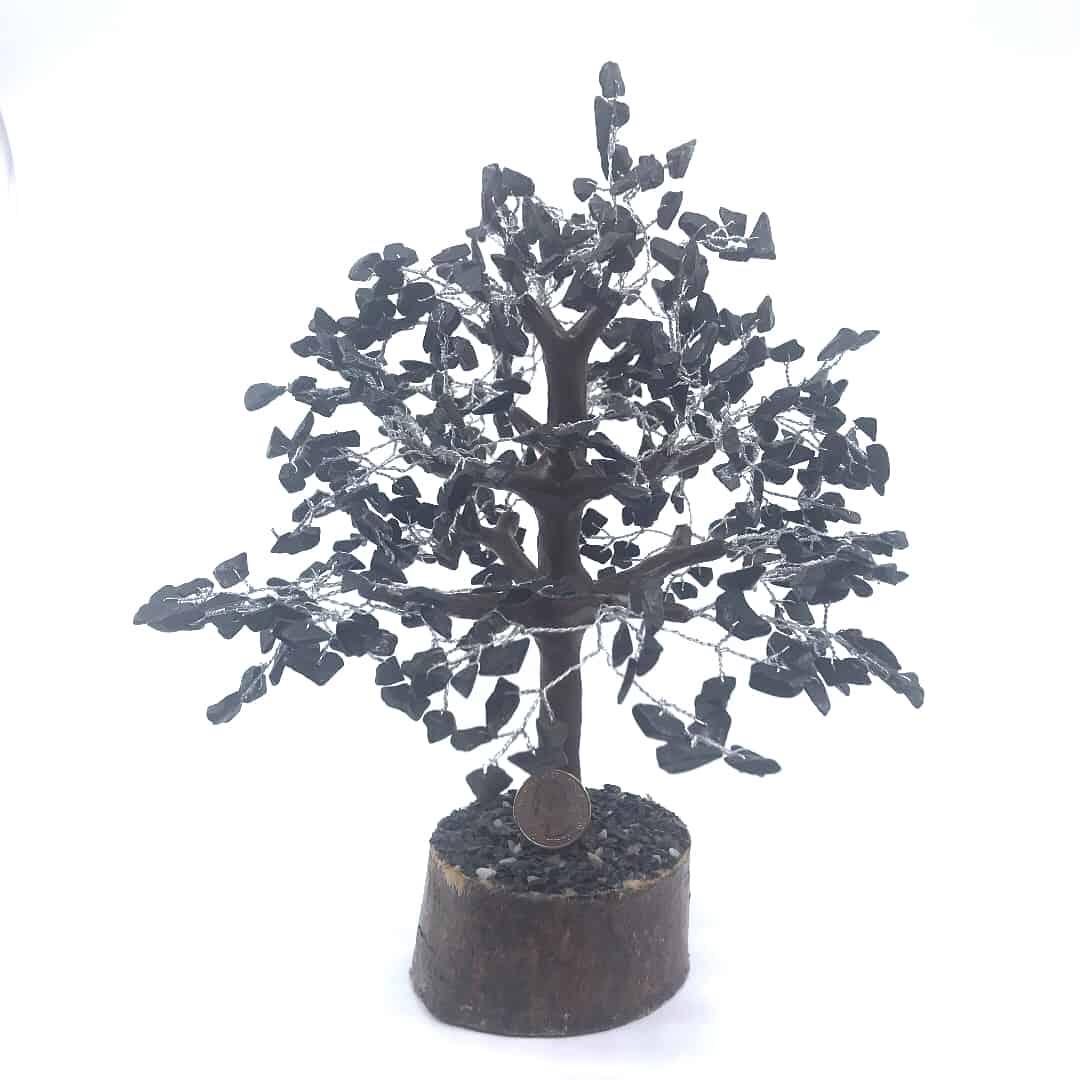 fortunecrystals blacktourmaline - Black Tourmaline tree