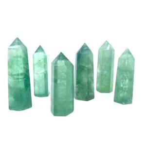 fortunecrystals green fluorite point 20 300x300 - Green Fluorite Point
